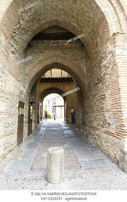 Arco De Alcocer of Arévalo, Avila, Castilla y León, Spain