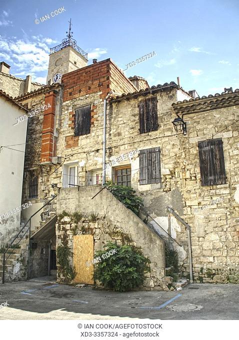 medieval architecture, St Gilles, Gard Department, Occitanie, France
