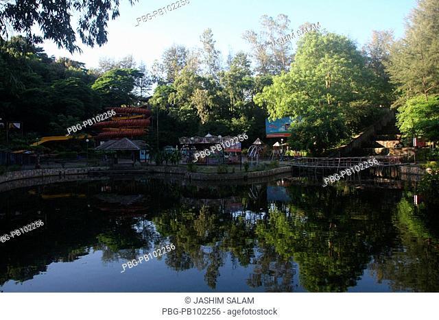 The amusement park at Foy's Lake Chittagong, Bangladesh August 2009