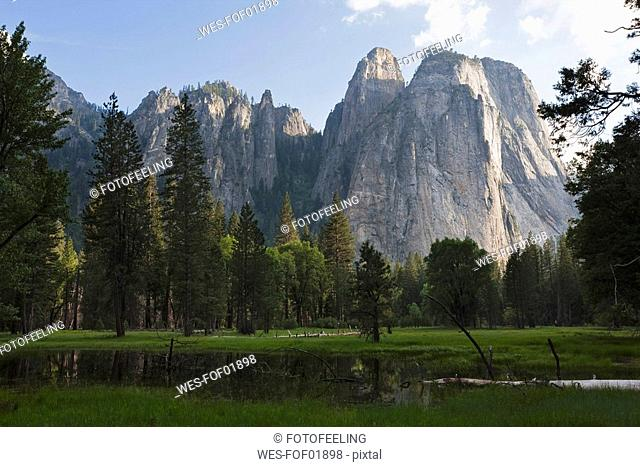 USA, California, Yosemite National Park