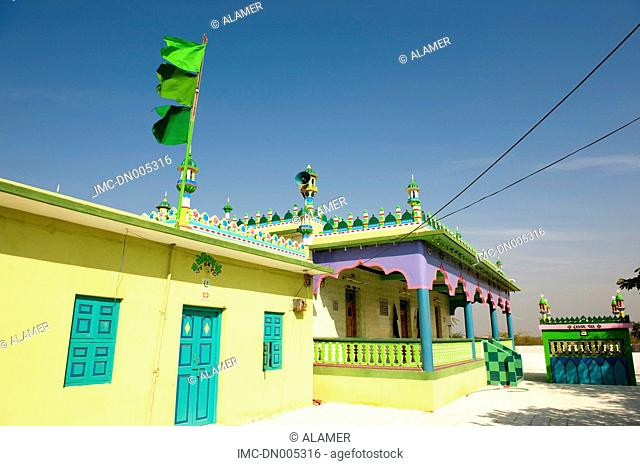 India, state of Gujarat, Kutch, Narayan Sarovar mosque