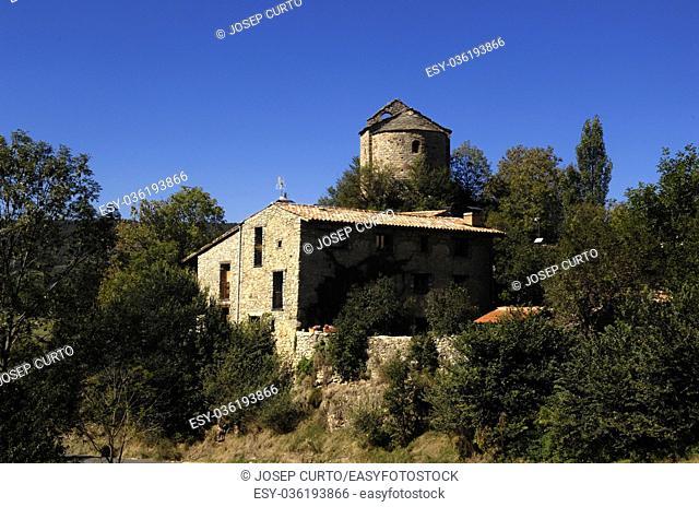 Church of Sant Julia de Pedra, Pedra, Cerdanya, Girona, Spain