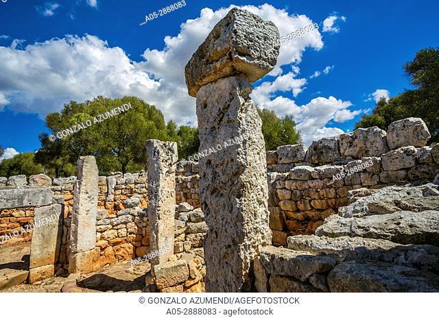 Torre d'en Galmes Talayotic Village. Alaior Municipality. Minorca Island. Balearic Islands. Spain