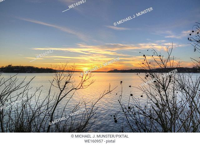 Grand Lake in Oklahoma. USA