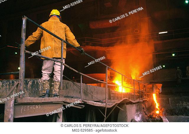 Iron and Steel industry. Tampico, Tamaulipas, Mexico