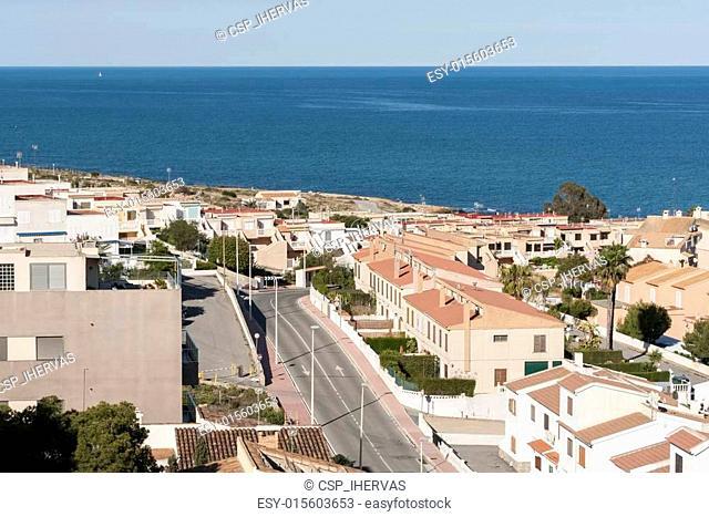 Views of Santa Pola