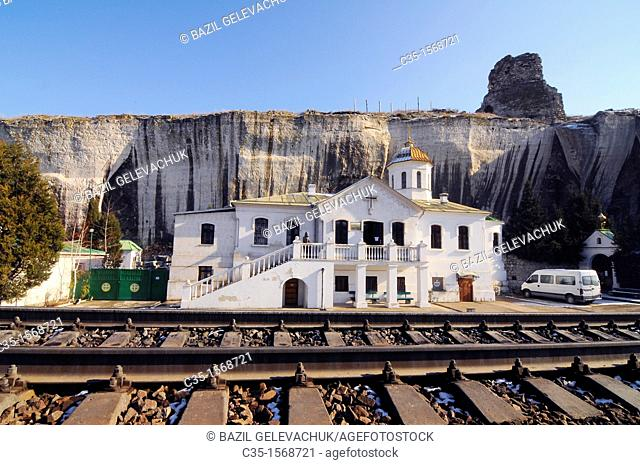 Inkerman is the extreme south-west of the Crimean peninsula, territory of city of Sevastopol  Inkerman is a 'spelaean city' on the Monasterial rock