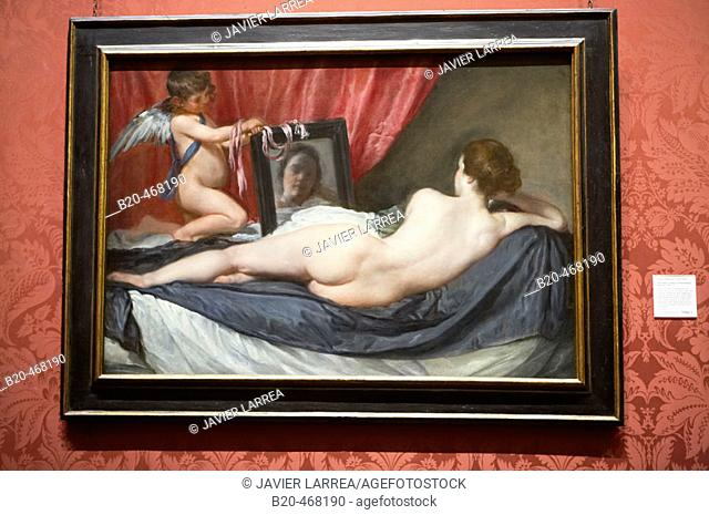 The Toilet of Venus (The Rokeby Venus), by Diego Velazquez, National Gallery, London. England. UK