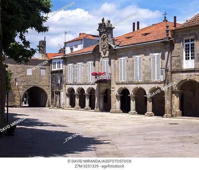 Plaza da Pedreira. Pontevedra. Galicia. España