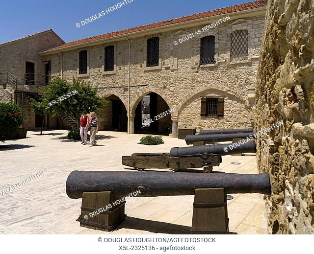 Larnaca fort LARNACA CYPRUS Larnaka fort building Local