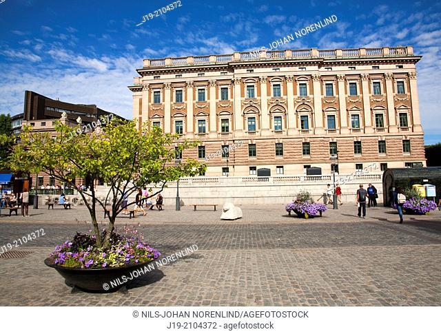 Parliament (Riksdagen)   Stockholm Sweden
