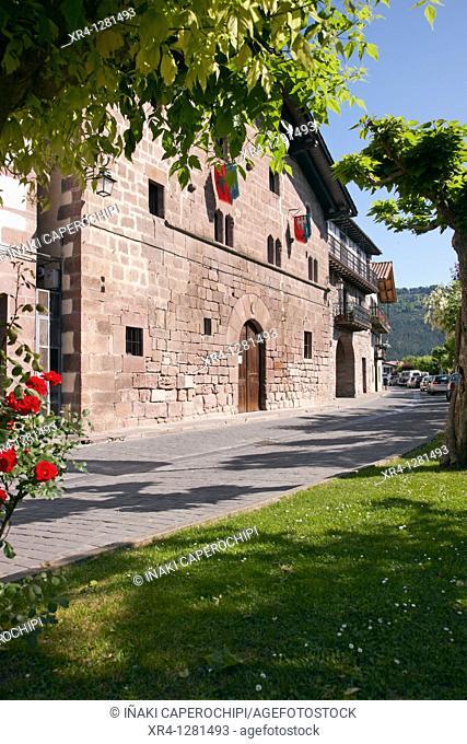 Jorge Oteiza Ethnographic Museum, Baztan Valley, Elizondo Baztan, Valle del Baztan, Navarra Nafarroa, Spain España