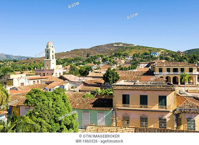 Convento de San Francisco de Asis monastery, Museo Nacional de la Lucha Contra Bandidos, Trinidad, Unesco World Heritage Site, Sancti Spiritus Province, Cuba