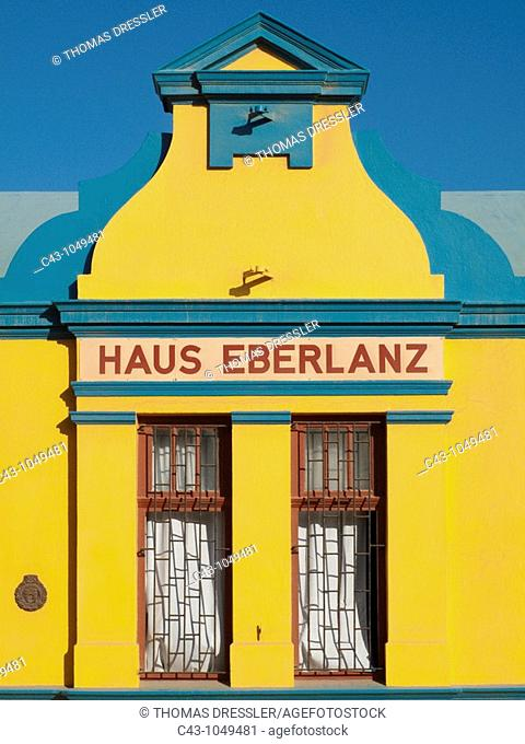 Namibia - Historic building in the coastal town of Lüderitz