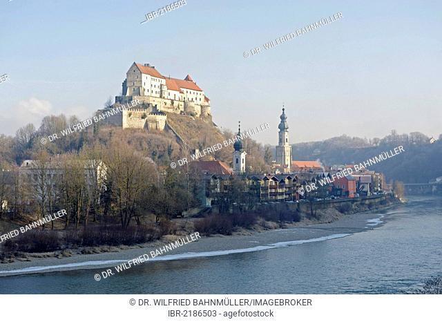 Castle, Burghausen, Upper Bavaria, Germany, Europe