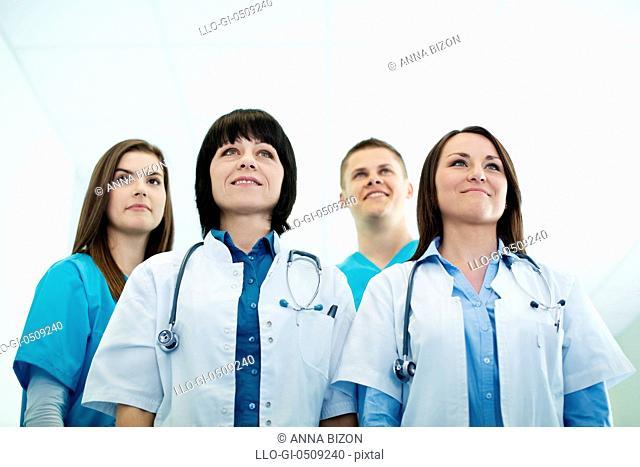 Successful medical team Debica, Poland