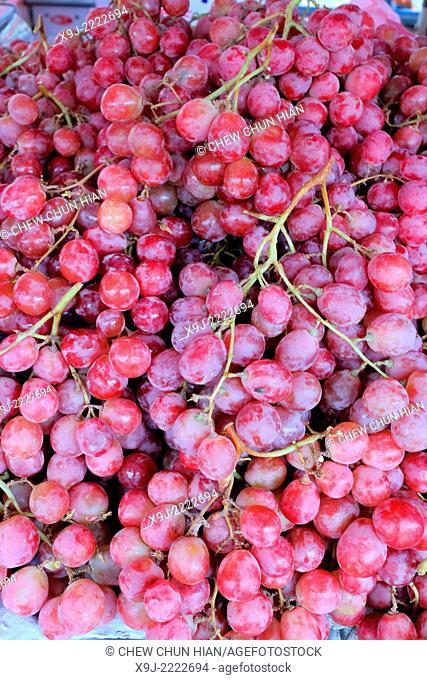 Fruit for sale in outdoor market