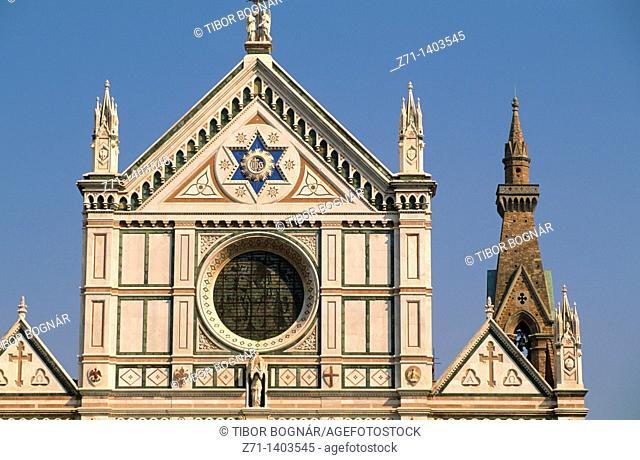 Italy, Tuscany, Florence, Santa Croce, church