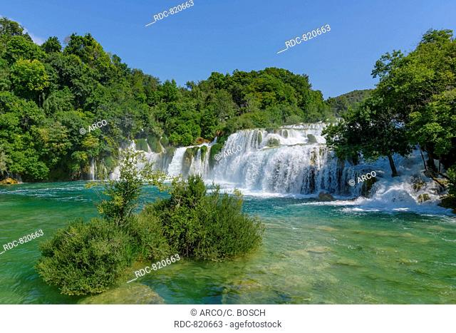 Krka National park, waterfalls, Dalmatia, Croatia