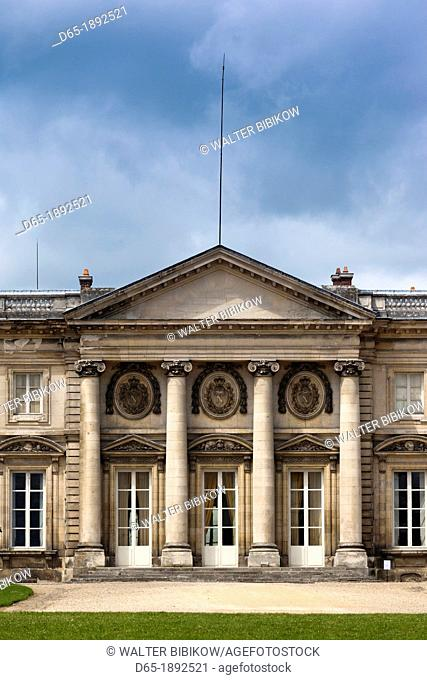 France, Picardy Region, Oise Department, Compiegne, Palais de Compiegne, Compiegne Palace, exterior