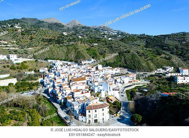 Ã. rchez, Málaga, Andalusia, Spain, Europe