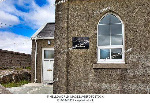 North Harris Free Presbyterian Church Meeting House, Stockinish, Isle of Harris, Outer Hebrides, Scotland