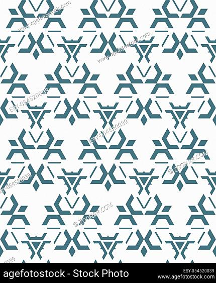 vector dark monochrome color abstract geometric seamless pattern white background