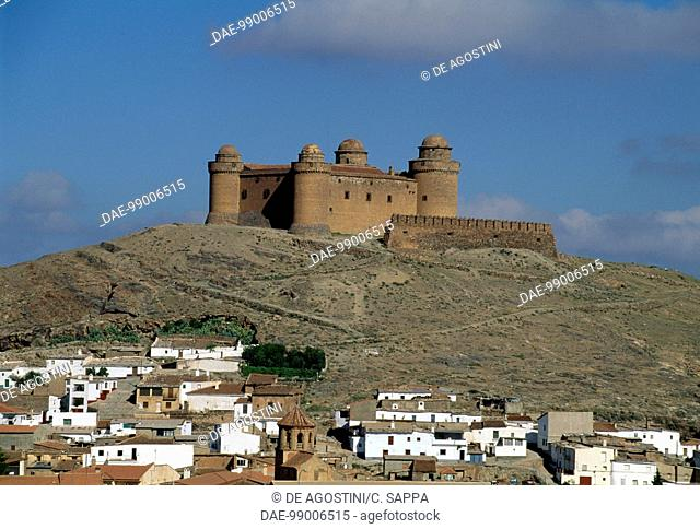 View of La Calahorra Castle, 1500-1512, Andalusia. Spain, 16th century
