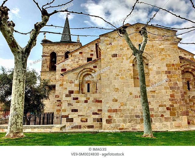 San Cipriano church in Zamora, Spain, in the Way to Santiago