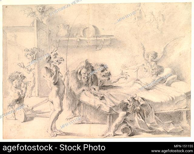 H deathbed demon Stock Photos and Images   age fotostock