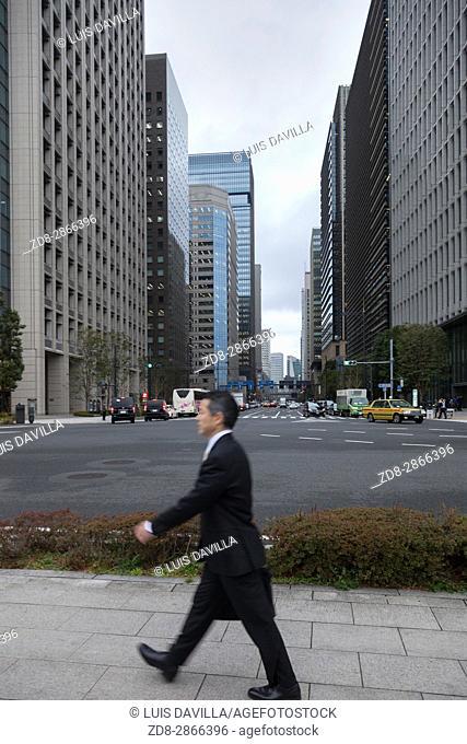 Jimbocho Financial district. Tokyo. Japan