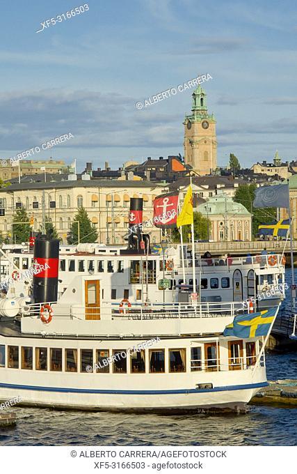 Riddarfjärden, Stockholm, Sweden, Scandinavia, Europe