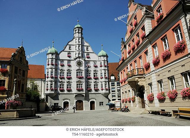 Historic Town Hall in Memmingen