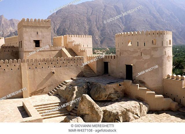 asia, arabian peninsula, oman, jabrin, Stock Photo, Picture