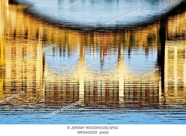 Building Reflections on Water