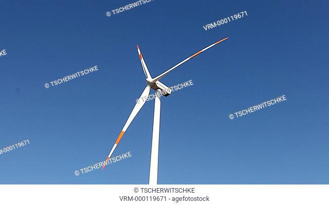 Windmill, Brandenburg, Germany, Europe