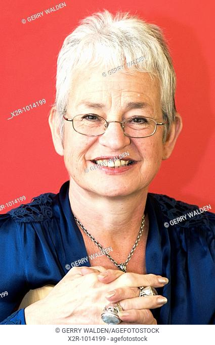 Jacqueline Wilson, author, at the Cheltenham Literary Festival, Gloucestershire, England  Jacqueline Wilson is a dame of the British Empire and has won a number...