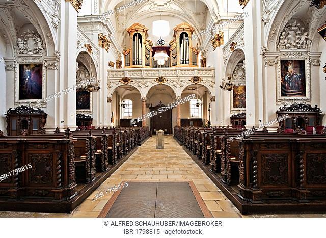Ignatiuskirche church of Old Cathedral in Linz, Upper Austria, Austria, Europe