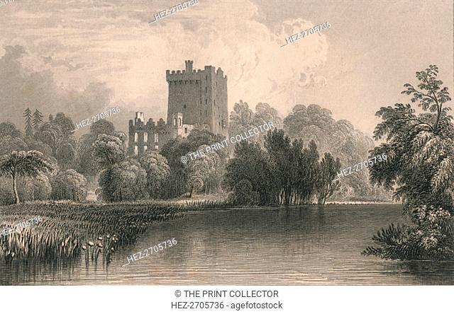 'Blarney Castle, Co. Cork', 1831. Creator: Thomas Dixon