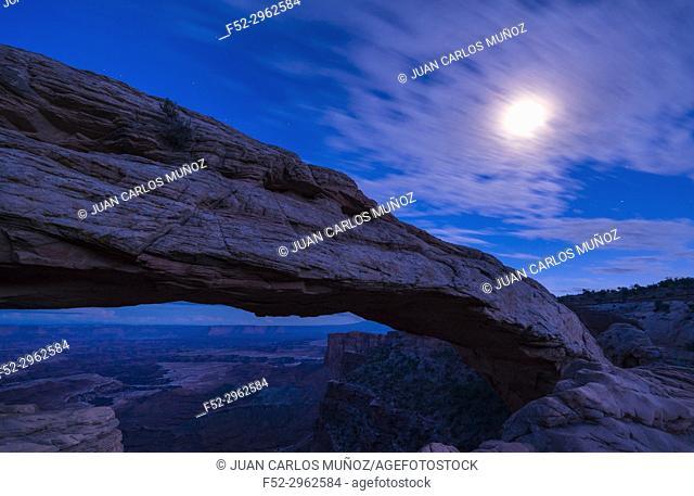 Mesa Arch, Canyonlands National Park, Utah, USA, America