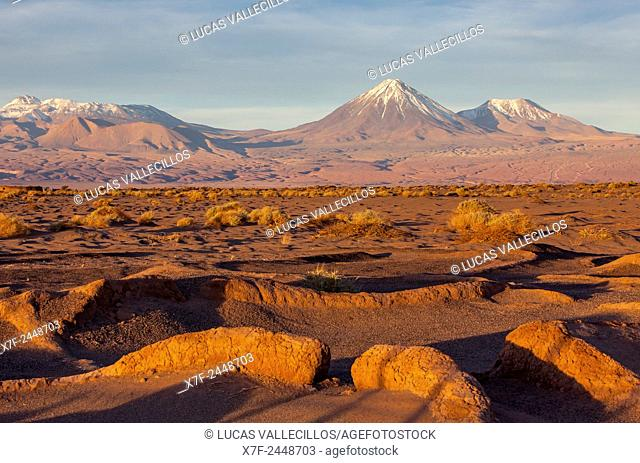 Ruins of Tulor village, dating from 100BC and 100AD, near San Pedro de Atacama, Atacama Desert, Región de Antofagasta, Chile