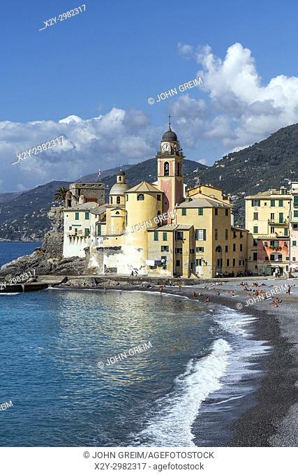 Santa Maria Assunta basilica, Camogli, Liguria, Italy