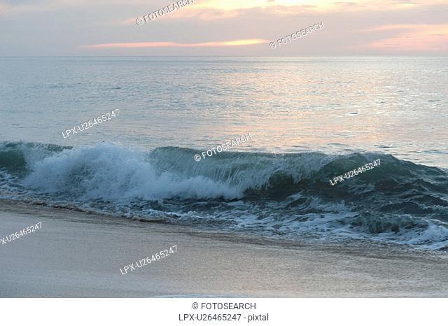 Waves in the sea, Sayulita, Nayarit, Mexico