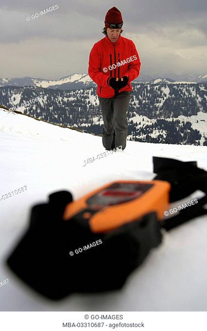 Security equipment for ski tours