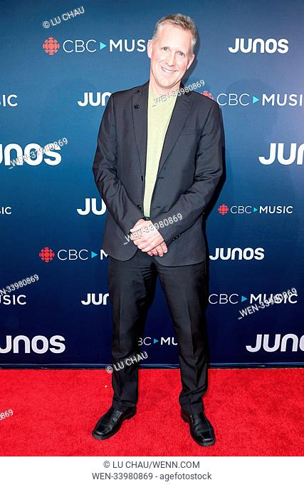 2018 JUNO Awards, held at the Rogers Arena in Vancouver, Canada. Featuring: Mike Downes Where: Vancouver, British Columbia