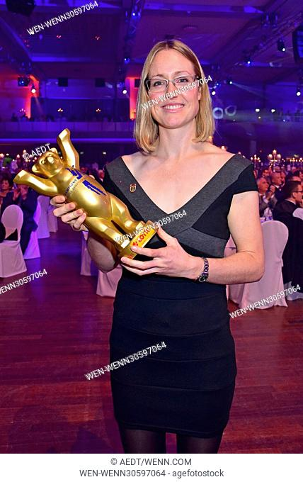 Champions Gala 2016 - Berlins Sportler des Jahres at Hotel Estrel. Featuring: Lisa Unruh Where: Berlin, Germany When: 10 Dec 2016 Credit: AEDT/WENN