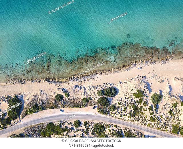 Salento aerial view, Puglia, Salento, Italy, Europe