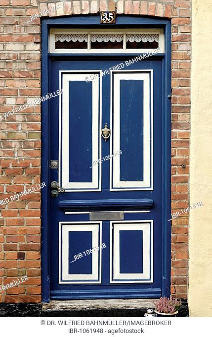 Front door, Ribe, Jutland, Denmark, Europe