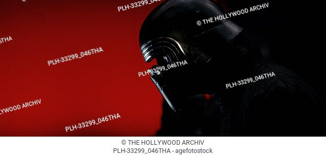 """""""Star Wars: The Last Jedi"""" (2017) Kylo Ren (Adam Driver) Lucasfilm Ltd"