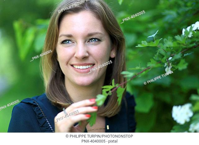 Young woman in nature